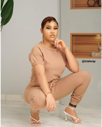 Nude Two Piece Set