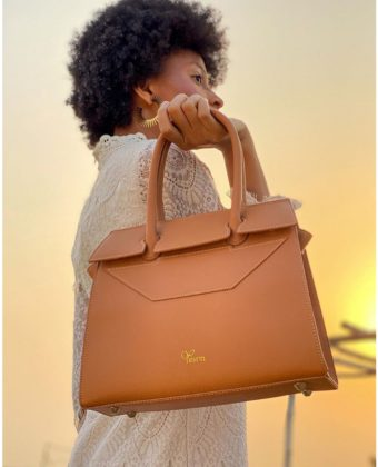Brown Tessy Bag By Yessin