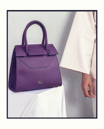 Purple Tessy Bag By Yessin