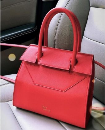 Red Tessy Bag By Yessin