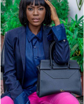 Black Tessy Bag By Yessin